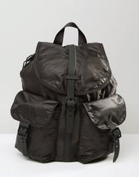 Легкий рюкзак из ткани рипстоп Herschel Dawson - Резиновый черный