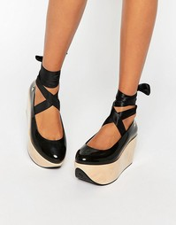 Туфли на платформе Vivienne Westwood for Melissa Rocking Horse
