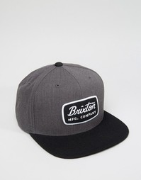 Бейсболка Brixton Jolt - Серый