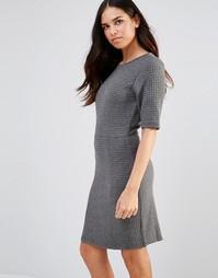 Трикотажное цельнокройное платье со стеганым дизайном Poppy Lux Sonya