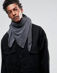 Трикотажный шарф Esprit - Серый