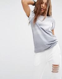Oversize-футболка бойфренда с логотипом спереди Criminal Damage