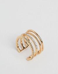 Кольцо DesignB London - Золотой