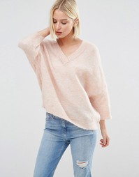 Джемпер Selected Liva - Розовый