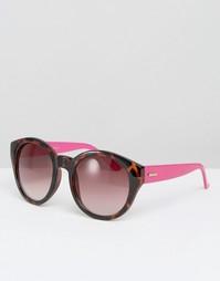 Круглые солнцезащитные очки Mink Pink Paparazzi
