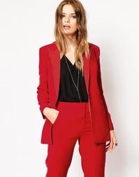 Блейзер-смокинг ASOS Premium - Красный
