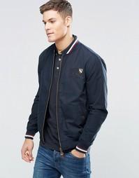 Куртка Харрингтон Santa Monica - Темно-синий
