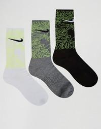 Набор из 3 пар белых носков Nike SX5412-905 - Белый