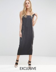 Трикотажное платье без рукавов G Star Be Raw - Черный