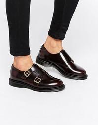 Туфли на плоской подошве с двумя ремешками Dr Martens Pandora