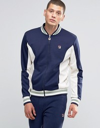 Спортивная куртка с полосками Fila Vintage - Темно-синий