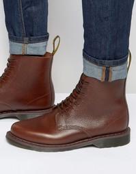 Ботинки с 8 парами люверсов Dr Martens Eldritch - Коричневый