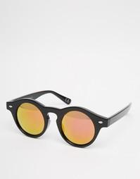Круглые солнцезащитные очки Trip - Черный