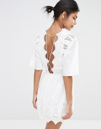 Платье мини с открытой спиной The Jetset Diaries Mariposa