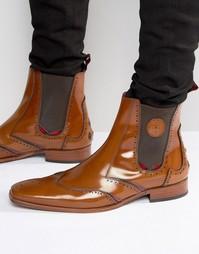 Кожаные ботинки челси Jeffery West Scarface - Рыжий