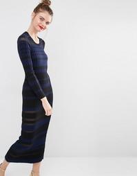 Sonia by Sonia Rykiel Sheet Stripe Maxi Dress - Мульти