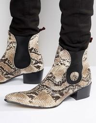 Ботинки челси Jeffery West Sylvian - Бежевый