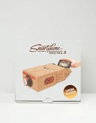 Золотистый проектор для смартфона Luckies - Золотой Gifts