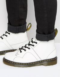 Ботинки Dr Martens Church Monkey - Белый