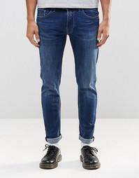 Эластичные джинсы скинни Replay Jondrill - Темно-выбеленный