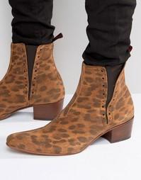 Замшевые ботинки челси Jeffery West Murphy - Рыжий