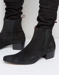 Замшевые ботинки челси Jeffery West Murphy - Черный