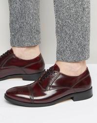 Кожаные оксфордские туфли Base London XXI Noel - Красный