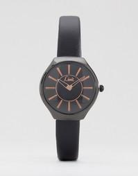 Часы с черным ремешком и циферблатом Limit - Черный