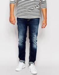 Темные облегающие джинсы Antony Morato - Синий деним