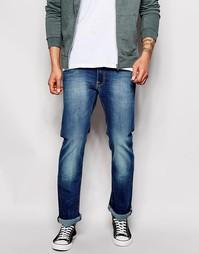 Выбеленные узкие джинсы с легким клешем Lee Trenton Rime Of Dawn