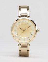 Часы Armani Exchange Olivia AX5316 - Золотой