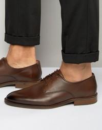 Кожаные туфли дерби Tommy Hilfiger Dallen - Рыжий
