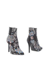 Черные Полусапоги и высокие ботинки Msgm