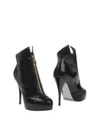 Черные Полусапоги и высокие ботинки Dibrera BY Paolo Zanoli