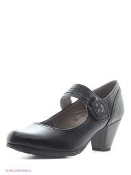 Черные Туфли Jana