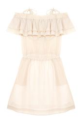 Хлопковое платье Milly Ruffle Designers Remix