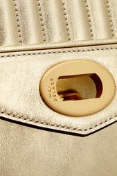 Кожаная сумка Freda Mimi Delage