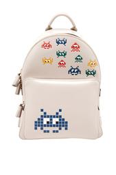Кожаный рюкзак Space Invasion Anya Hindmarch