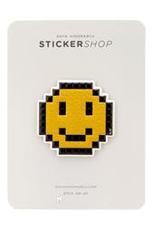 Наклейка Pixelated Smiley Anya Hindmarch
