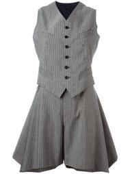 комплект шорты с подтяжками и жилет  Jean Paul Gaultier Vintage
