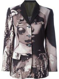 пиджак 'La Culture Noire At Sa Force' Jean Paul Gaultier Vintage