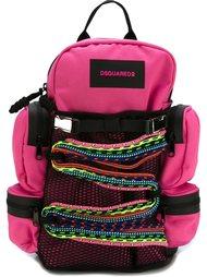 рюкзак с декоративной веревкой Dsquared2