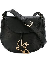 сумка через плечо с подвеской-птицой Red Valentino