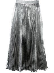 плиссированная юбка из люрекса Christopher Kane