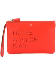 клатч 'Have A Nice Day' Anya Hindmarch