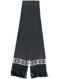 шарф с узором  Dolce & Gabbana