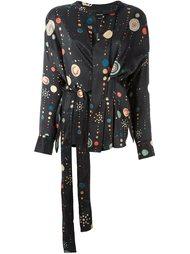 блузка 'Oliver' с космическим принтом Isabel Marant