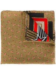 шарф с цветочным принтом Givenchy