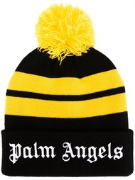 шапка-бини с помпоном Palm Angels