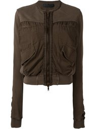 cropped bomber jacket Haider Ackermann